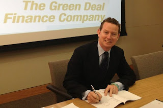 Greg Barker signing off &#163;224 million to support the Green Deal