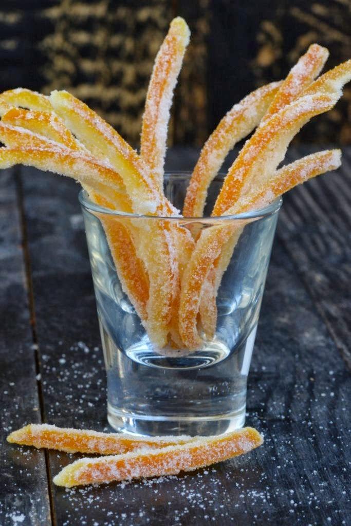 everyday musing: Candied Orange Peel