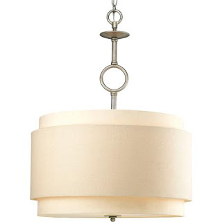 24 chain links drum pendant chandelier from shades of light 599 00