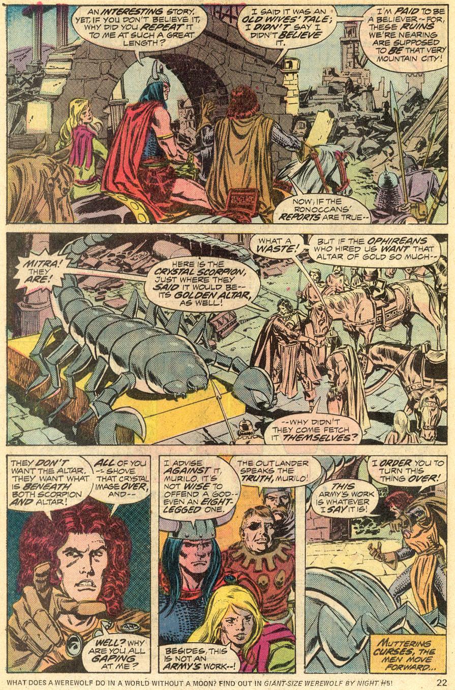 Conan the Barbarian (1970) Issue #52 #64 - English 14