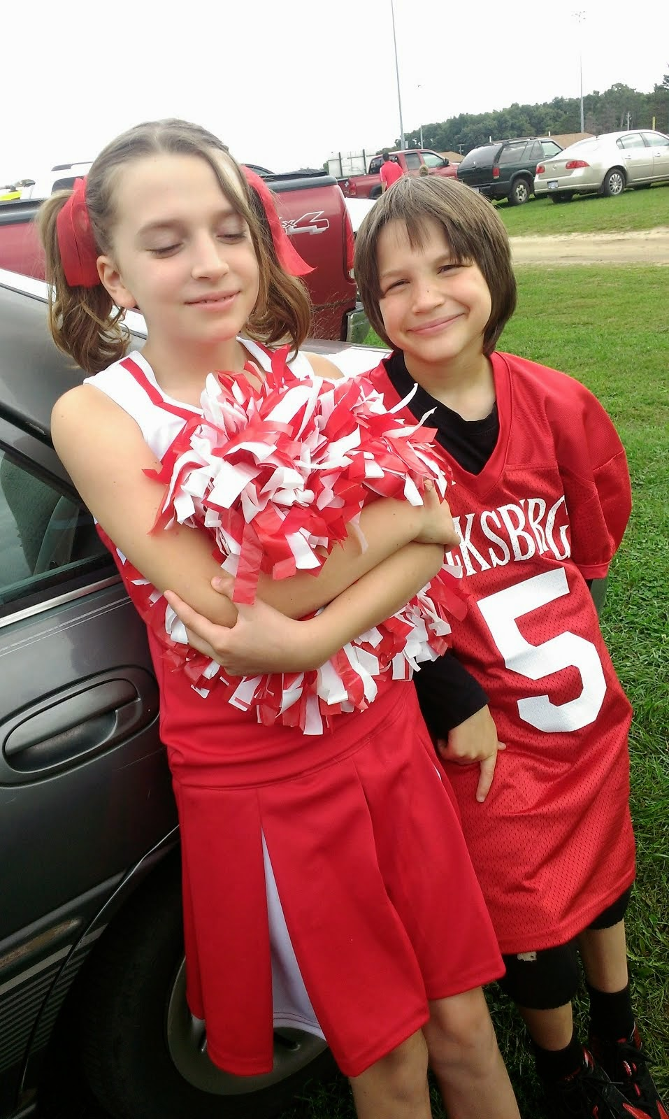 Elijah and his Cheerleader