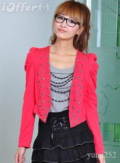 HOT NAKED GIRLS: Korea Style Vogue V-neck Long Sleeve
