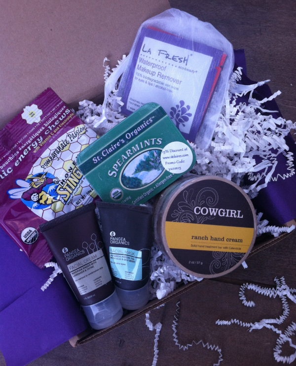 Yuzen Monthly Subscription Box Review - September 2012