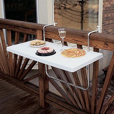 Blog de decora o arquitrecos otimizando o espa o de - Mesa para balcon ...