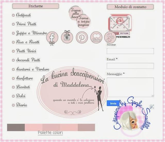 grafica per blog, template, sfondi