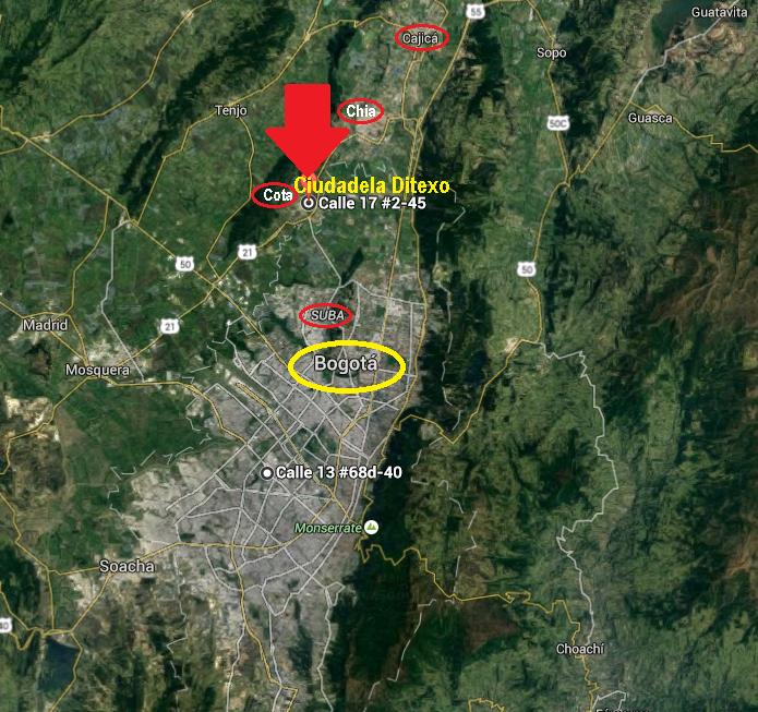 Cota, Cundinamarca, a 45min de Bogotá