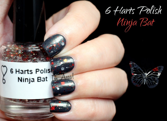 6 Harts Polish Ninja Bat (over Elevation Polish Thracian Sea)