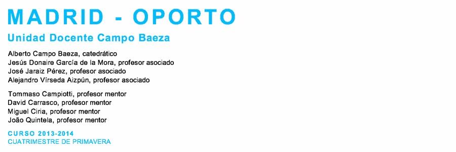 U.D. CAMPO BAEZA CURSO 2013-2014