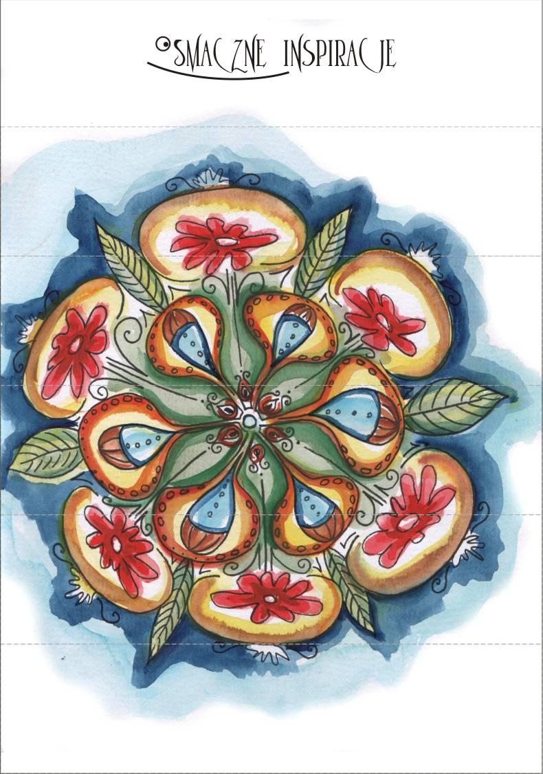 Rysunek na kalendarz adwentowy 2014