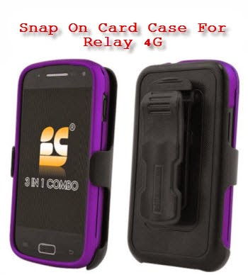 Snap On Card Case