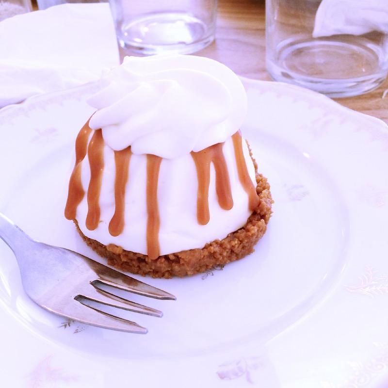 cheesecake de chez Mona à bordeaux