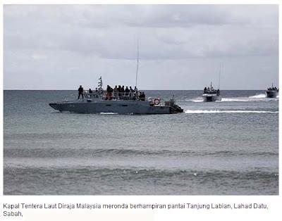Kawalan Laut Oleh TLDM Kes Lahad Datu