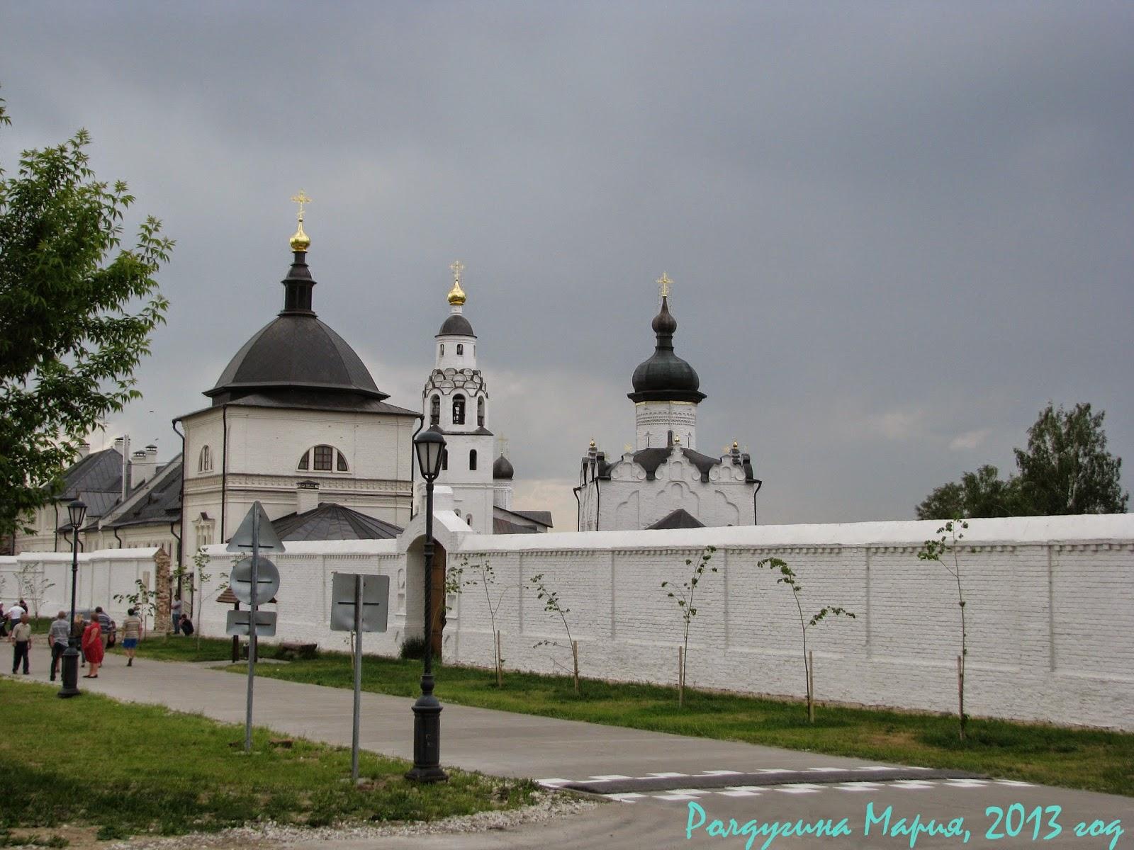 Церковь Германа Казанского и Митрофана Воронежского Свияжск фото