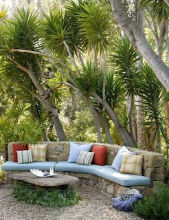 Muebles de Piedra para Exteriores, Ideas Eco Friendly