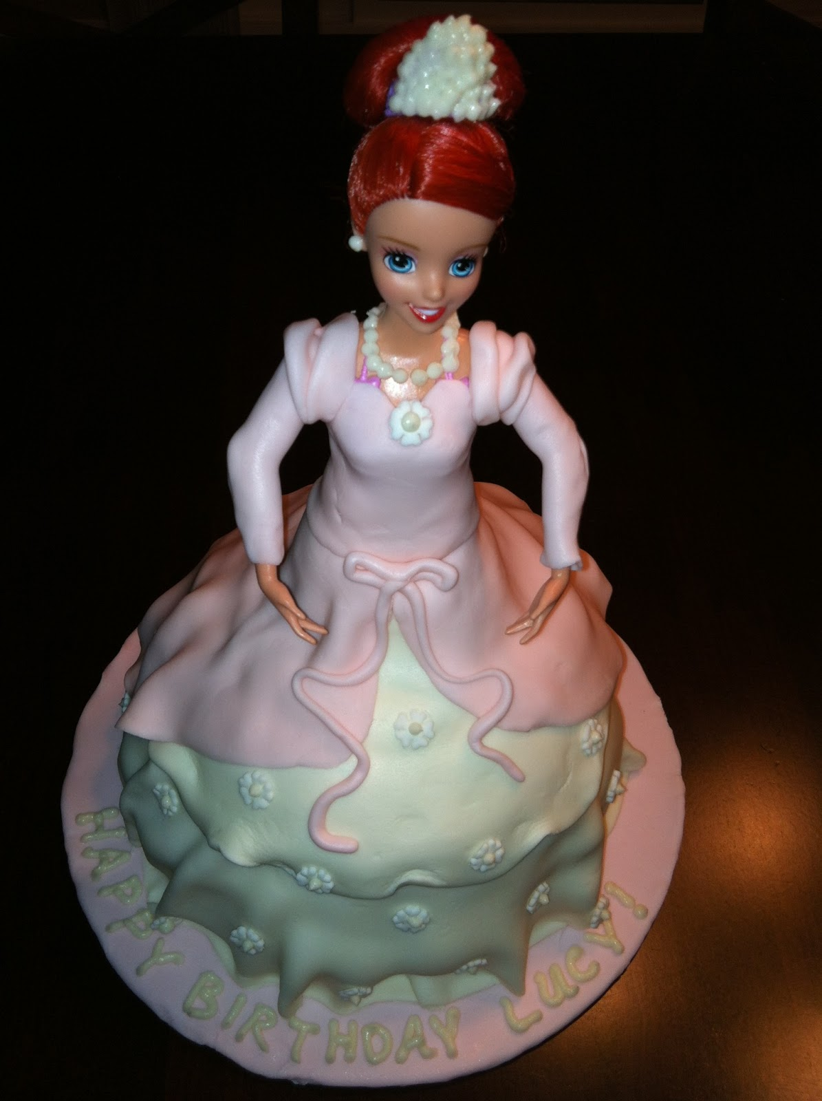 Cake Concepts By Cathy 2 Princess Ariel Cakes For 2