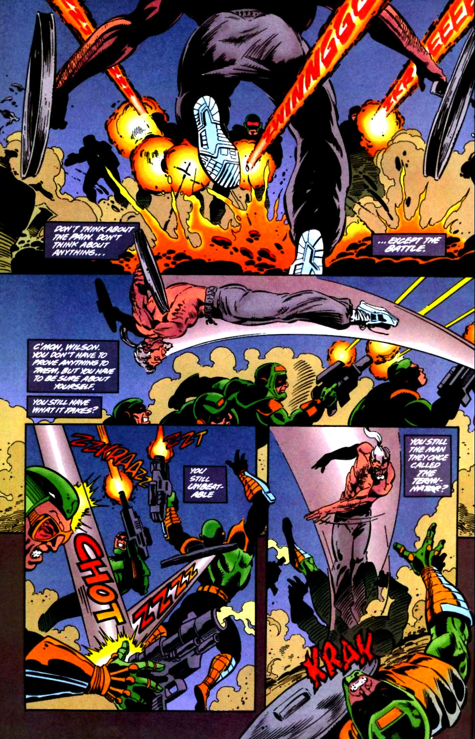 Deathstroke (1991) Issue #47 #52 - English 3
