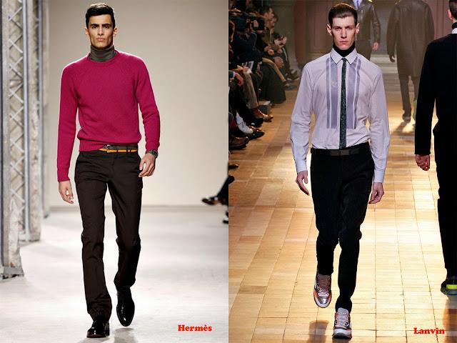 Tendencia otoño_invierno 2013-14 jersey cuello vuelto: Hermès y Lanvin