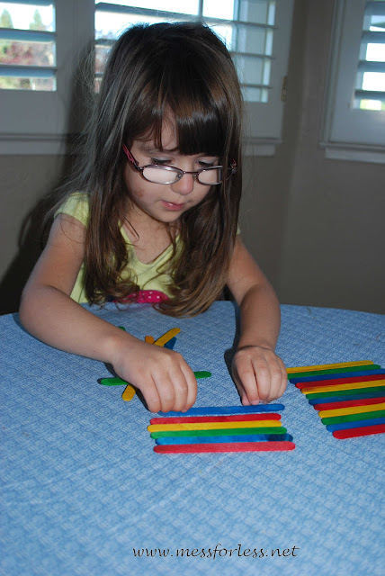 Child making pattern