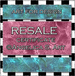 Resale License Art for Design