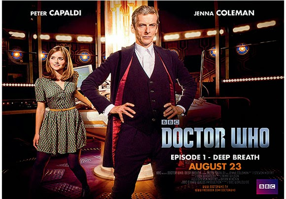 Doctor Who Deep Breath TV poster