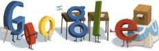 Elecciones Nacionales doodle de Google Argentina elecciones nacionales 23 de octubre 2011