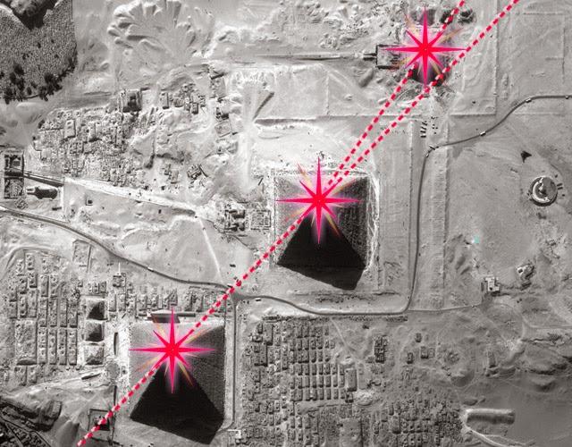 Quien construyó las pirámides?