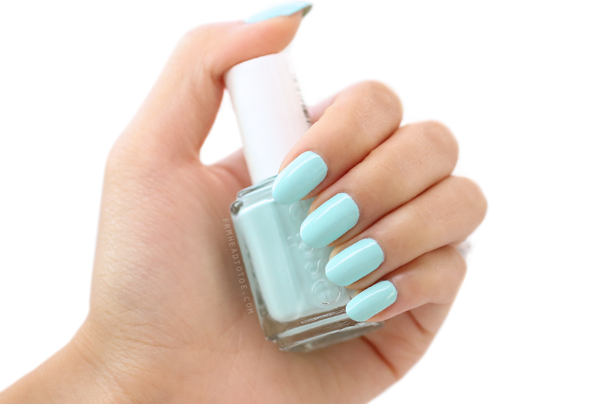 Manicure Monday: Essie Mint Candy Apple - From Head To Toe