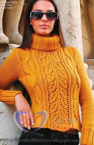 Örgü Bayan Bluz Yepyeni Harika Modeller 2013