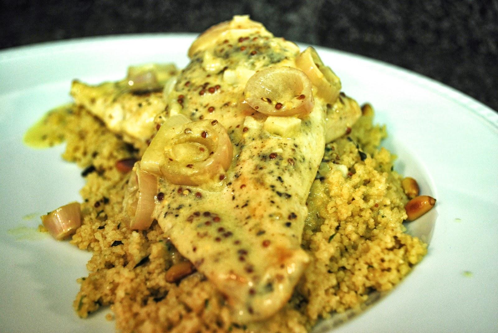 ... chicken with mustard cream sauce many kitchens chicken with mustard