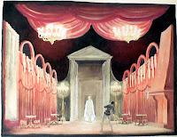 Diseño de una escenografía de Don Juan