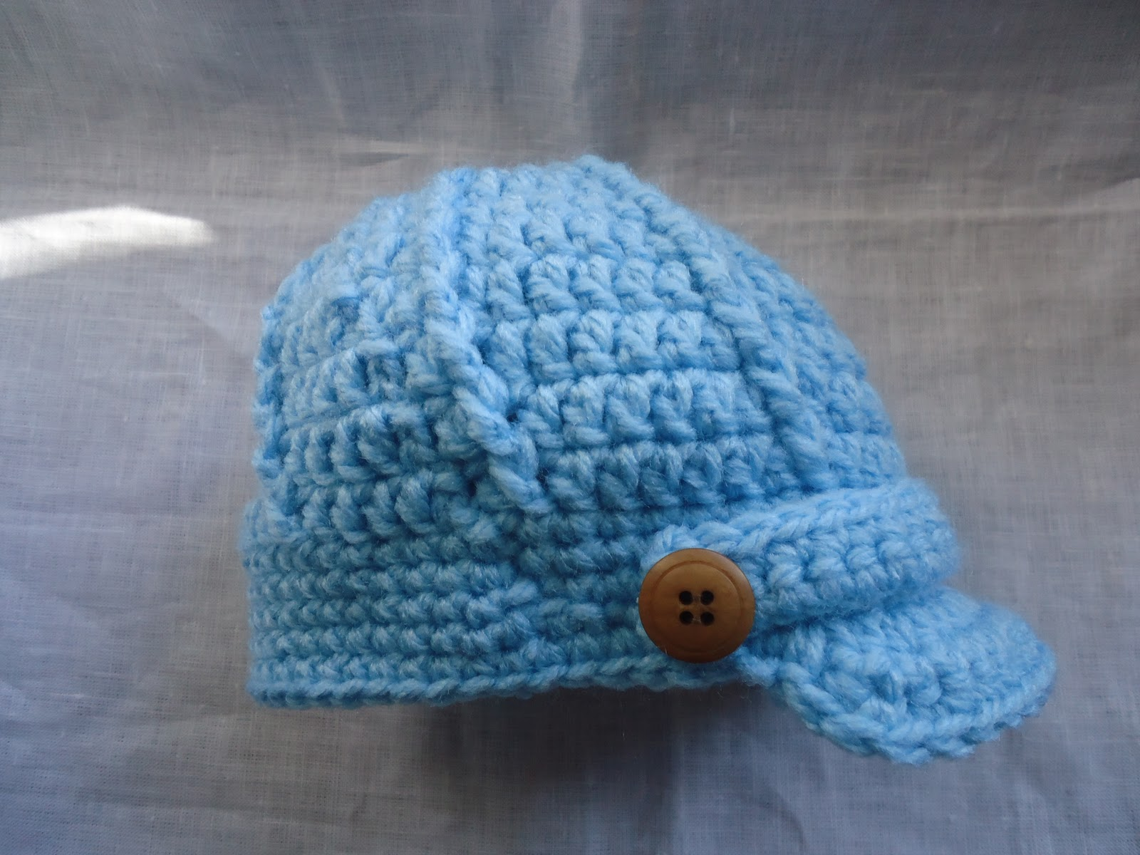 Gorro a crochet para bebé paso a paso - Imagui
