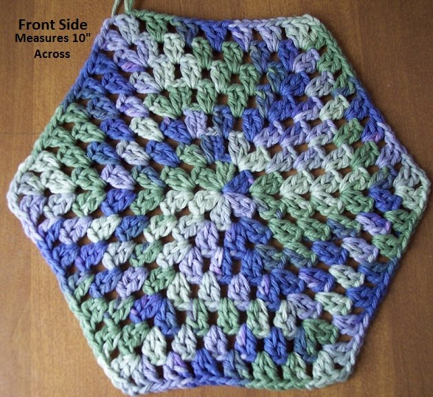 Crochet Patterns Hot Pads : Crochet Hot Pad Crochet Hot Pad Pattern