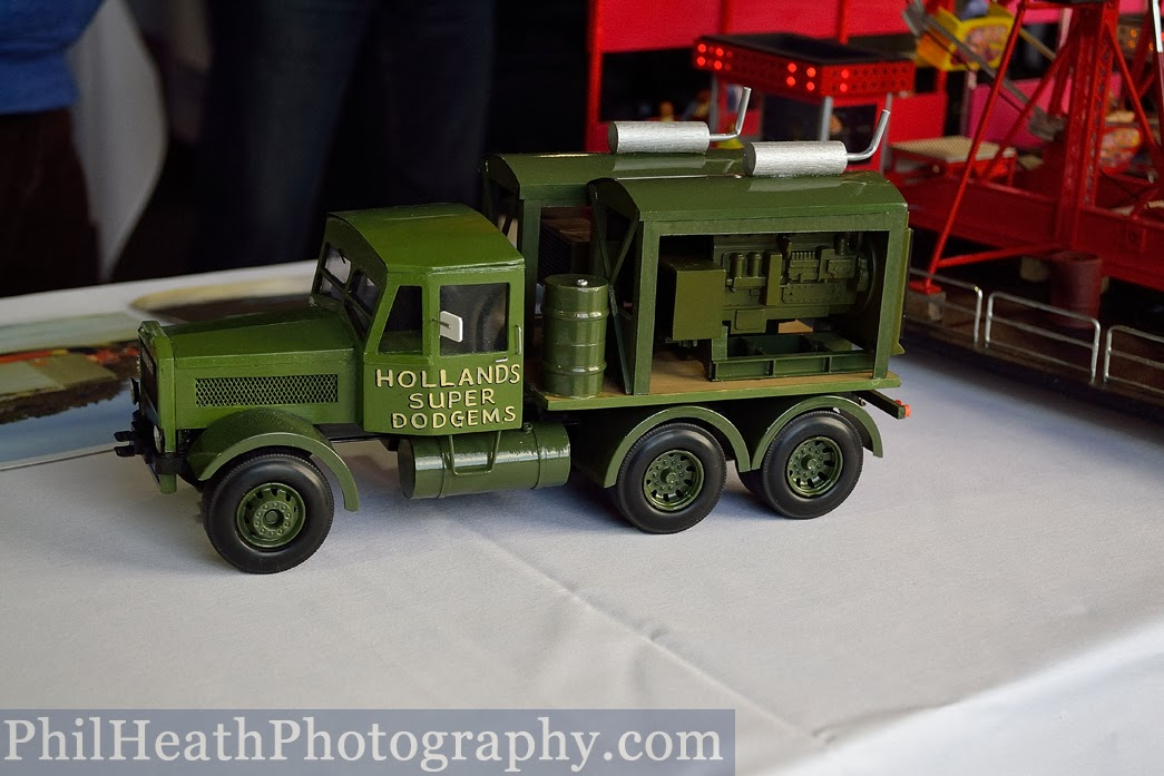 Model Show at Leeds Valentine Fair, February 2014