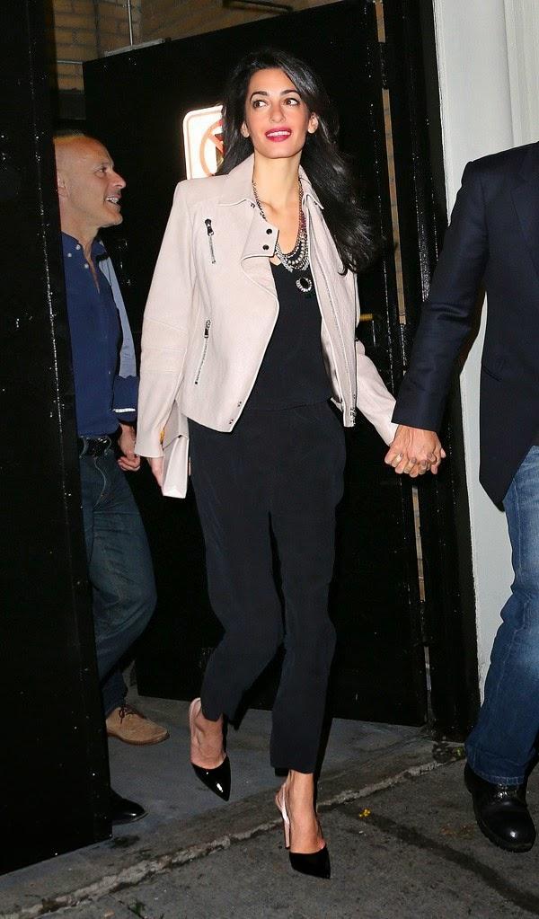 Copie o look da Amal Alamuddin Clooney