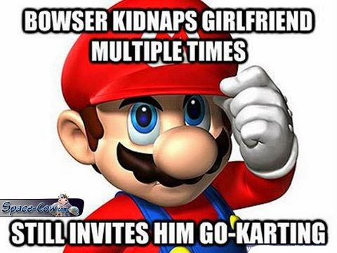 funny messages Mario picture