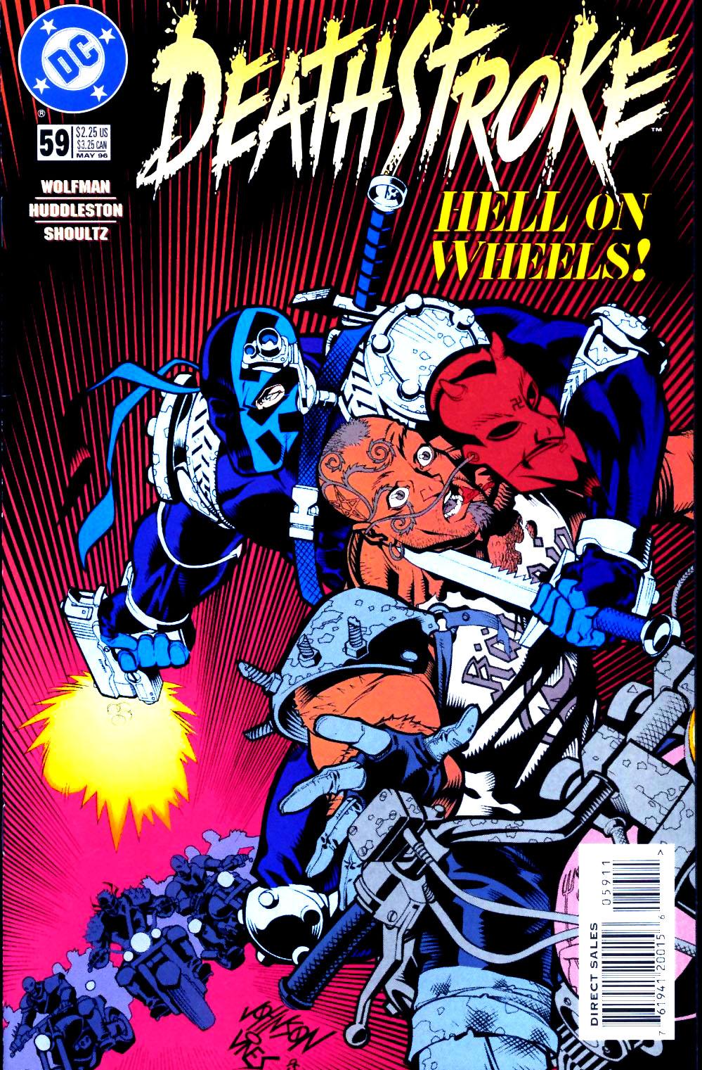 Deathstroke (1991) Issue #59 #64 - English 1