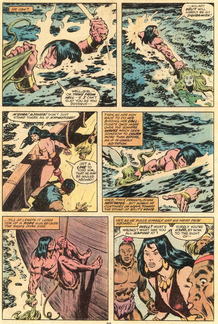Conan the Barbarian (1970) Issue #98 #110 - English 17