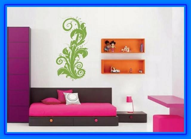 Decoracion de habitaciones con vinilos decorativos web - Vinilos para decorar armarios ...