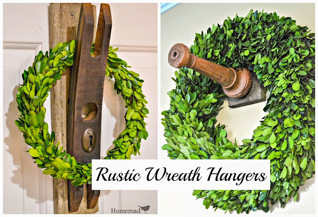 wreath hangers x2 www.homeroad.net