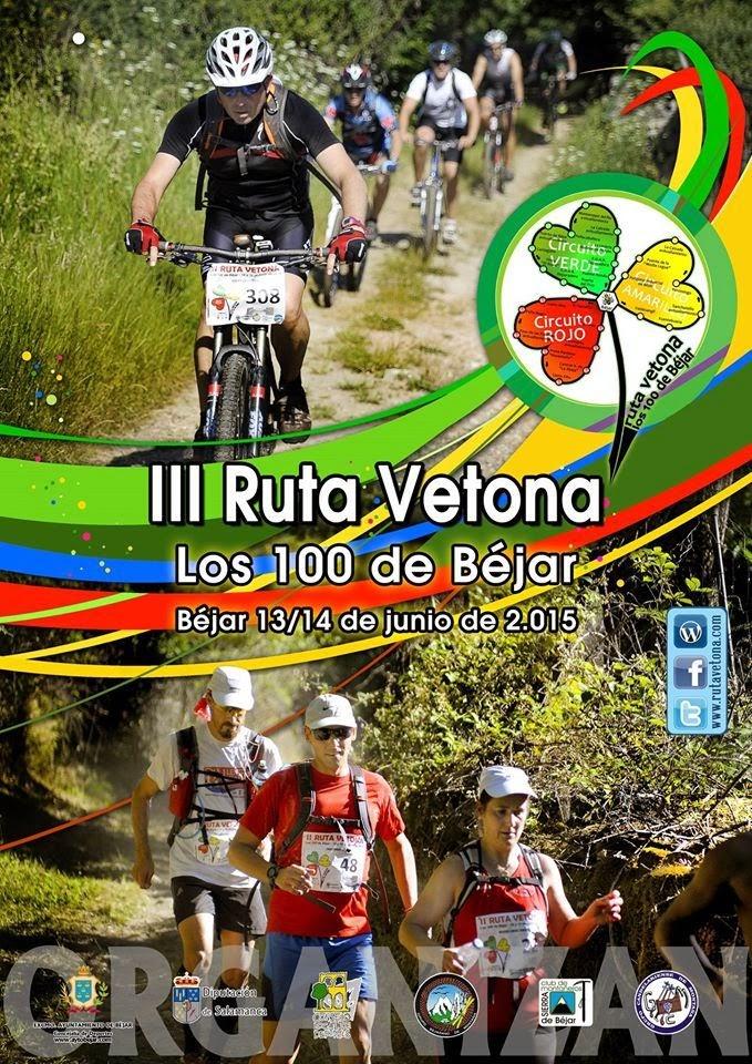 cartel de la Ruta Vetona 2015