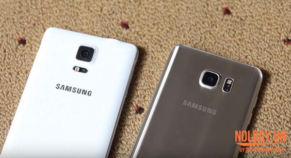 Samsung Galaxy Note 4 và Galaxy Note 5