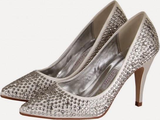 Rainbow Club Antonia bridal shoes