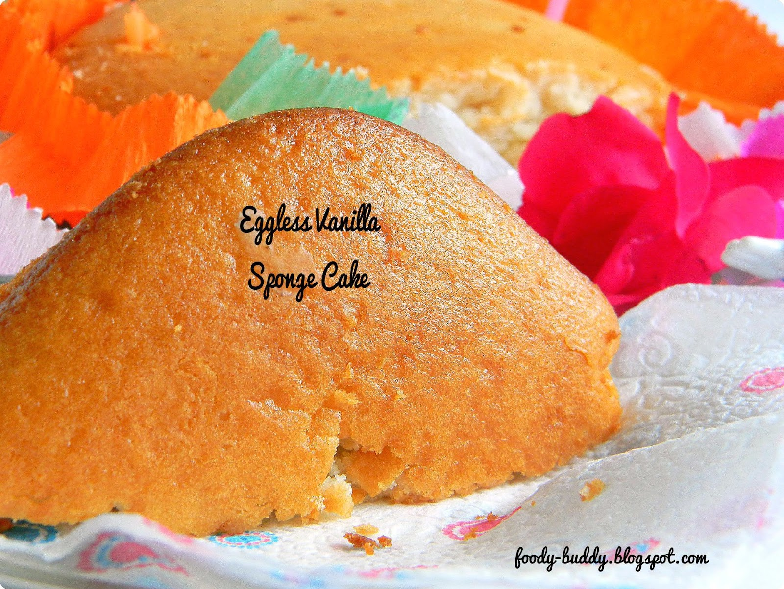 Cake Recipes With Pictures And Procedure : Eggless Vanilla Sponge Cake Using Yogurt / No Egg No ...