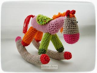 Карусельная лошадка. Описание