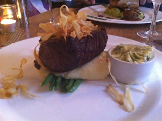 Stitch and Bear - Fillet steak at Bellinter House