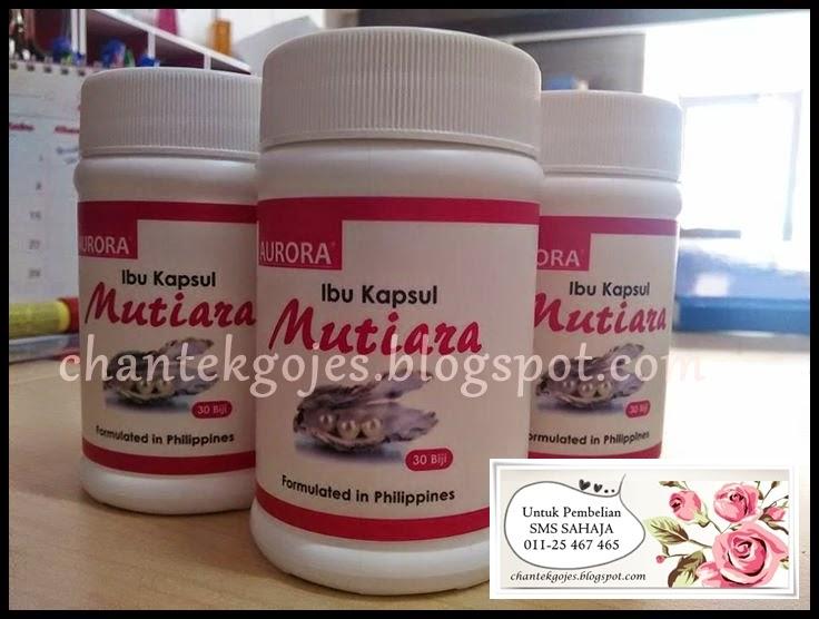 AURORA® IBU KAPSUL MUTIARA 100% ORIGINAL