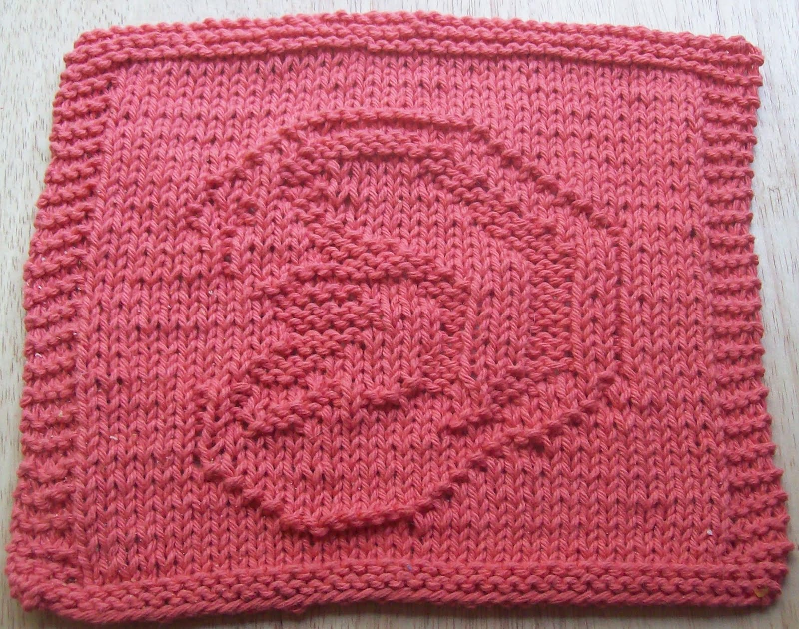 Simple Knit Dishcloth Pattern : DigKnitty Designs: Ear Knit Dishcloth Pattern