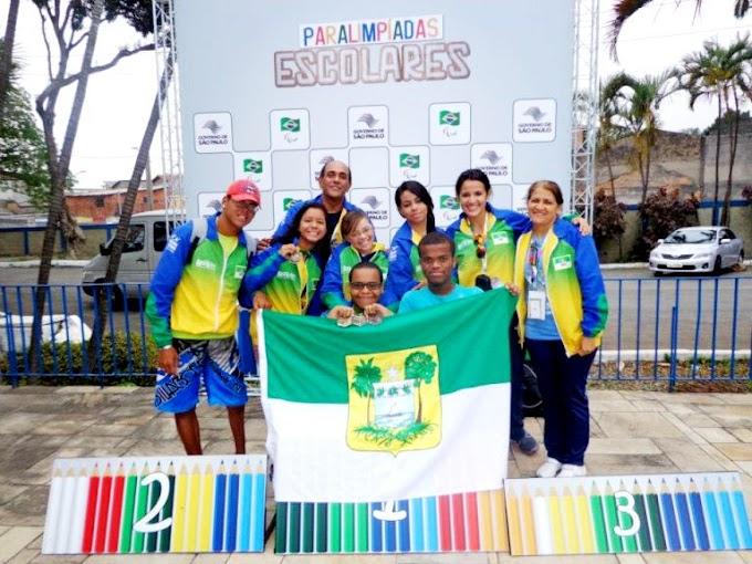 Delegação do RN tem desempenho histórico nos Jogos Paralímpicos Escolares Brasileiros