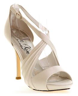Sandalia de novia de enepe