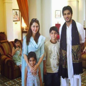 Beautiful Imran Abbas With His Family Unseen Pictures